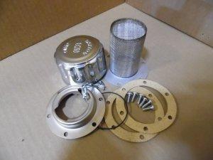 C 16160, leach C 16160, leach filter cap assembly, leach garbage truck parts
