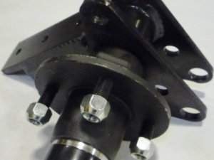C-AC02-S31, curotto can C-AC02-S31, curotto can garbage truck parts, curotto can front bracket and hub assembly