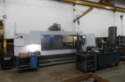 vertical machining center, industrial contract machining, vertical mill