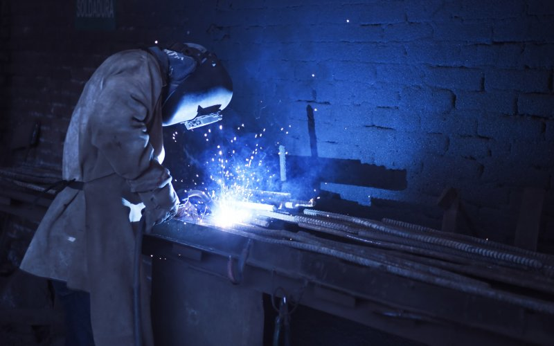 industrial welding, industrial contract fabrication, industrial contract welding